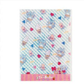 A4 clear file - ice cream
